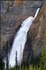 First shot of the impressive Takakkaw Falls in Yoho National Park