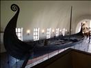 oseberg ship in full length