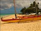 Ready To Go Boat At Lanikai Beach