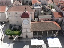 Looking Down from Trogir Tower