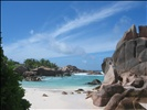Beach - La Digue - Seychelles