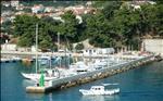 Harbor pier, Rab