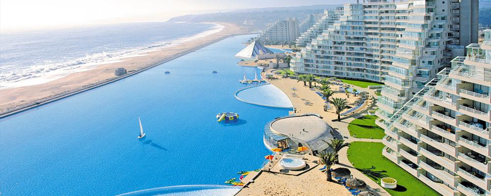 World largest swimming pool san alfonso del mar - The biggest swimming pool in chile ...