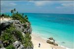 50th Cruise_0212 Tulum cliffs--oceanside