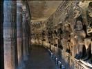 Ajanta, Inside a Cave