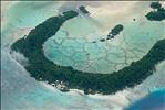 Solomons blue lagoon