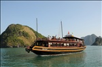 Sailing on Ha Long Bay, Vietnam