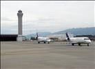 SkyWest CRJs & tower - Salt Lake City Int´l. (SLC), UT, USA.