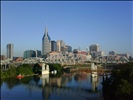 View of Nashville in the Morning