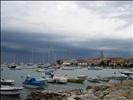 Stormy marina of Izola