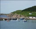 White Point, a fishing village on Cape Breton