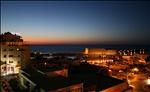 Lato Hotel and harbour at sunset - Heraklion, Crete