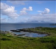 Looking west - no: east! from Scalasaig