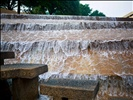 the active pool at the Fort Worth Water Gardens