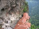 sümela manastırı (üstten)
