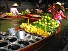 Floating Market, Damnoen Saduak. Thonburi, Thailand