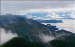 Misty Fjords by plane