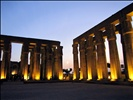 Luxor Temple at Night - Luxor, Egypt