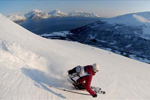 skiing the lyngen alps