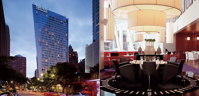 Sofitel chicago water tower for Tablet hotels chicago