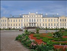 Rundale palace renovated south facade