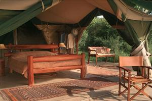 traditional tented camp