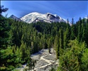 Mt. Rainier @ 4,392 m / 14,410ft.