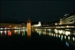 Kapellbrücke view - Lucerne, Switzerland