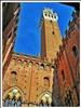 Siena - la torre del Mangia