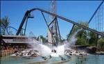 Cedar Point - Shoot the Rapids Final Splash