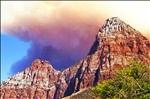 Forest Fire Over Zion