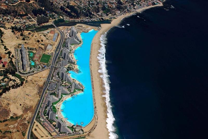 World largest swimming pool san alfonso del mar - Where is the worlds largest swimming pool ...