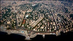 Genova Albaro e Foce viste dall'aereo
