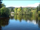 River Oich at Loch Ness - Fort Augustus ( Scotland )