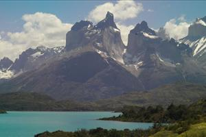 mountains of torres del paine national park