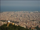 Barcelona - View from Tibidabo - Eixample